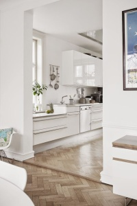 kitchen parquet flooring
